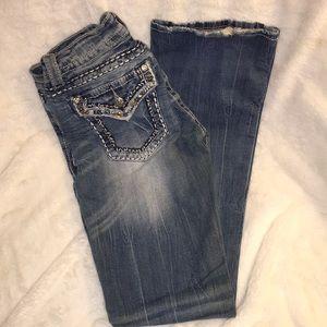 Women's MissMe Signature Boot Size 27 Jeans